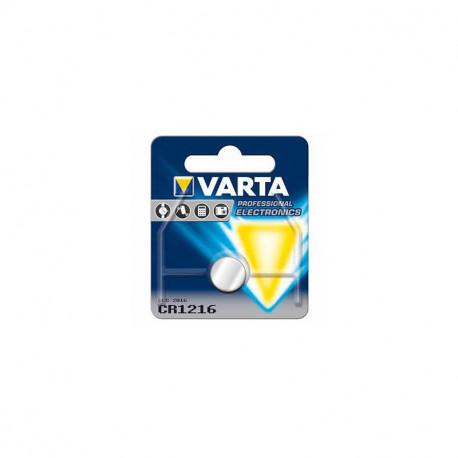 Pile Varta Cr1216 3V Lithium 25mAh