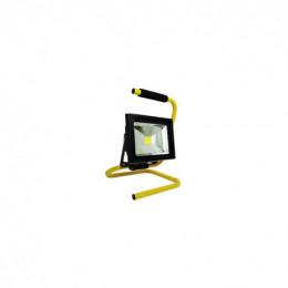 Projecteur de chantier elexity led 20w portable + câble ip65 ce